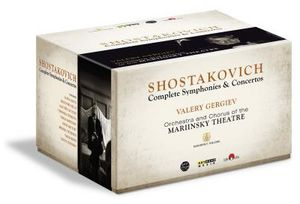 【送料無料】Shostakovich/Gergiev/Orchestra & Chorus Of The / Shostakovich Cycle (4PC) (Box)(輸入盤ブルーレイ)