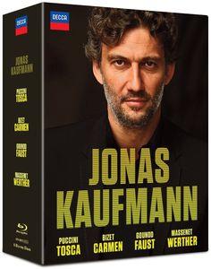 【送料無料】Jonas Kaufmann /Jonas Kaufmann: Carmen - Tosca - Faust - Werther(輸入盤ブルーレイ)(ヨナス・カウフマン)