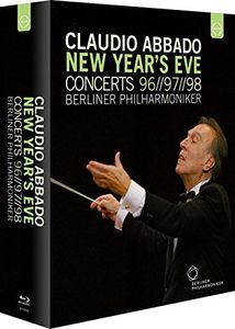【送料無料】Brahms/Ravel/Berlioz/Bizet/Rachmaninov / Claudio Abbado New Years Eve Concerts Box(輸入盤ブルーレイ)