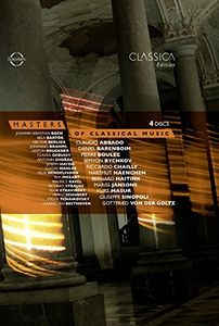 【送料無料】Bach/Abbado/Barenboim/Boulez / Masters Of Classical Music(輸入盤ブルーレイ)