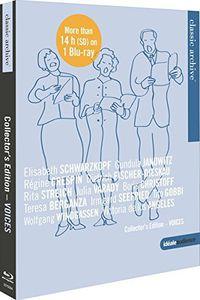 【送料無料】Verdi/Wagner/Brahms/Mahler / Classic Archive-Collectors Edition Vol. 5: Voices(輸入盤ブルーレイ)