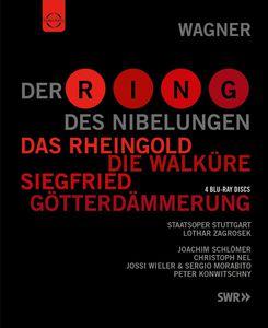 【送料無料】Wagner/Staatsorchester Stuttgart/Zagrosek / Der Ring Des Nibelungen (4PC)(輸入盤ブルーレイ)