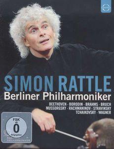 【送料無料】Mussorgsky/Borodin/Shostakovich/Tchaikovsky / Simon Rattle Conducts The Berliner Philharmoniker (輸入盤ブルーレイ)