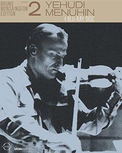 【送料無料】Bach/Bartok/Mozart/Beethoven/Brahms / Bruno Monsaingeon Edition 2-Yehudi Menuhin (4PC)(輸入盤ブルーレイ)