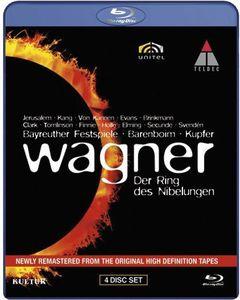 【送料無料】Wagner/Bayreuth Festival Orch/Barenboim / Der Ring Des Nibelungen(輸入盤ブルーレイ) (ニーベルングの指環)