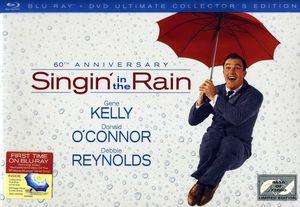 【送料無料】Singin In The Rain: 60th Anniversary Ultimate Collection (w/DVD)【2012/7/17】(輸入盤ブルーレイ) (雨に唄えば)