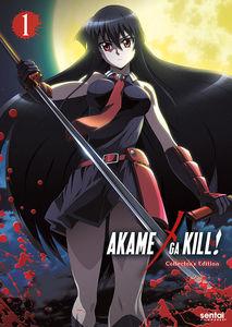 【送料無料】AKAME GA KILL 1 (5枚組) (W/DVD)(アニメ輸入盤ブルーレイ) (アカメが斬る!)