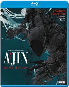 【送料無料】AJIN (3PC) (アニメ輸入盤ブルーレイ)【B2017/5/16発売】