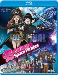 【送料無料】BODACIOUS SPACE PIRATES: COMPLETE COLLECTION (3枚組)(アニメ輸入盤ブルーレイ)(ミニスカ宇宙海賊)