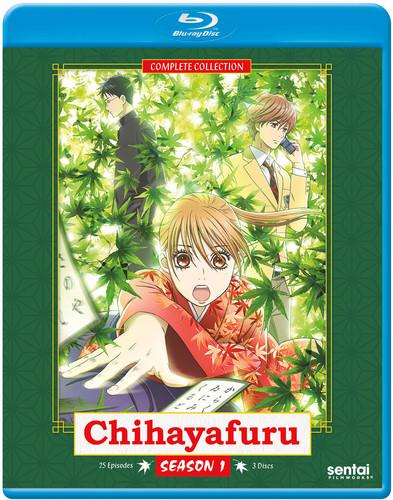 【送料無料】CHIHAYAFURU 1 (3PC) (アニメ輸入盤ブルーレイ)【B2017/9/12発売】
