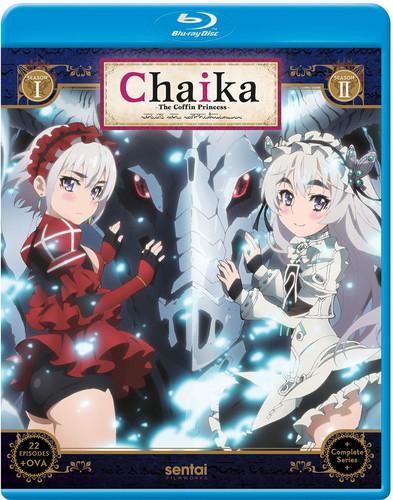 【送料無料】CHAIKA THE COFFIN PRINCESS (4PC) (アニメ輸入盤ブルーレイ)【B2017/12/12発売】