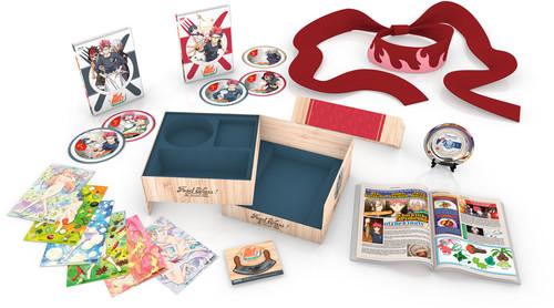 【送料無料】FOOD WARS: SECOND PLATE (PREMIUM BOX SET) (5PC)【B2018/2/13発売】 (アニメ輸入盤ブルーレイ)