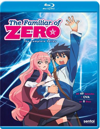 【送料無料】FAMILIAR OF ZERO: COMPLETE COLLECTION (8PC) (アニメ輸入盤ブルーレイ)【B2017/12/19発売】