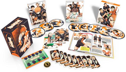 【送料無料】HAIKYU: SEASON 1 (PREMIUM BOX SET) (8PC) (W/DVD) (アニメ輸入盤ブルーレイ)【B2017/12/26発売】