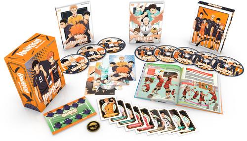 【送料無料】HAIKYU: SEASON 2 (PREMIUM BOX SET) (8PC) (W/DVD)【B2018/4/17発売】 (アニメ輸入盤ブルーレイ)
