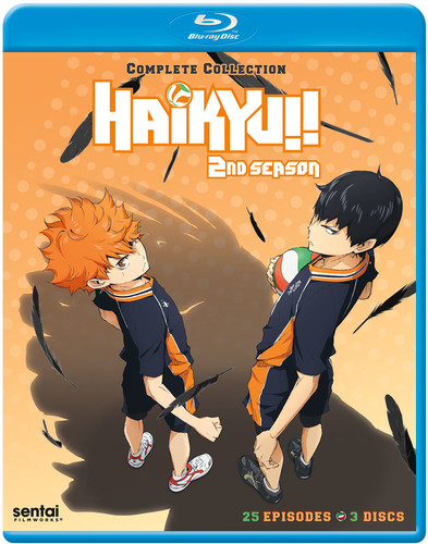 【送料無料】HAIKYU: SEASON 2 (3PC)【B2018/4/17発売】 (アニメ輸入盤ブルーレイ)