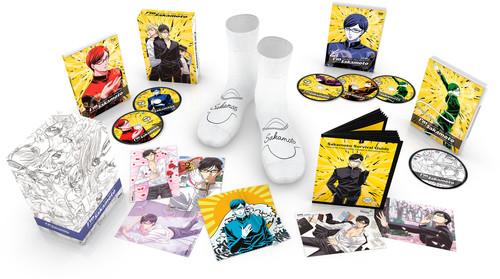 【送料無料】HAVEN'T YOU HEARD: I'M SAKAMOTO (PREMIUM BOX SET) (アニメ輸入盤ブルーレイ)【B2017/11/21発売】