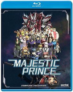 【送料無料】MAJESTIC PRINCE (4枚組)(アニメ輸入盤ブルーレイ)(銀河機攻隊 マジェスティックプリンス)