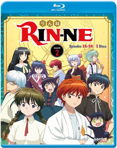 【送料無料】RIN-NE SEASON 2 (3PC) (アニメ輸入盤ブルーレイ)【B2017/7/25発売】