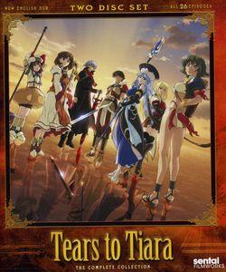 【送料無料】TEARS TO TIARA (3枚組)(アニメ輸入盤ブルーレイ)(ティアーズ・トゥ・ティアラ)