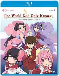 【送料無料】WORLD GOD ONLY KNOWS: ULTIMATE COLLECTION (7PC) (アニメ輸入盤ブルーレイ)【B2017/1/3発売】