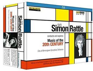 【送料無料】BERG/CITY OF BIRMINGHAM SYMPHONY ORCHESTRA / SIR SIMON RATTLE CONDUCTS & EXPLORES MUSIC OF (輸入盤ブルーレイ)【BM2016/4/29発売】