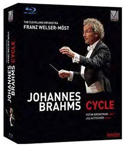 【送料無料】J. BRAHMS/CLEVELAND ORCHESTRA / SYMPHONIES NOS.1-4 - TRAGIC OVERTURE (3枚組)(輸入盤ブルーレイ)