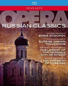 【送料無料】BORIS GODUNOV/ORLIN ANASTASSOV/MARC ALBRECHT / RUSSIAN OPERA CLASSICS (6枚組)【BM2016/3/25】(輸入盤ブルーレイ)