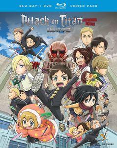 【送料無料】ATTACK ON TITAN: JUNIOR HIGH - THE COMPLETE SERIES (4PC) (アニメ輸入盤ブルーレイ)【B2017/3/21発売】