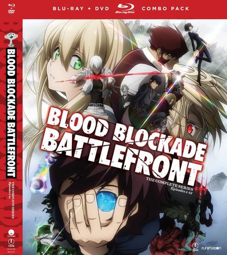 【送料無料】BLOOD BLOCKADE BATTLEFRONT: THE COMPLETE SERIES (アニメ輸入盤ブルーレイ)【B2016/8/16発売】