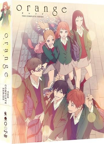 【送料無料】ORANGE: THE COMPLETE SERIES (4PC) (W/DVD) (Limited Edition) (アニメ輸入盤ブルーレイ)【B2017/10/17発売】