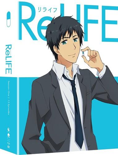 【送料無料】RELIFE: SEASON ONE (4PC) (W/DVD) (Limited Edition) (アニメ輸入盤ブルーレイ)【B2017/10/10発売】