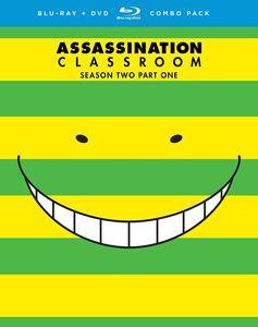 【送料無料】ASSASSINATION CLASSROOM: SEASON TWO PART ONE (4PC) (アニメ輸入盤ブルーレイ)【B2017/2/21発売】
