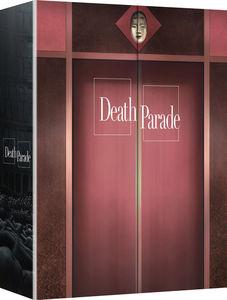 【送料無料】DEATH PARADE: COMPLETE SERIES (4PC) (W/DVD) (アニメ輸入盤ブルーレイ)【B2016/11/29発売】
