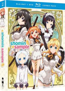 【送料無料】SHOMIN SAMPLE: THE COMPLETE SERIES (4PC) (W/DVD) (アニメ輸入盤ブルーレイ)【B2017/1/31発売】