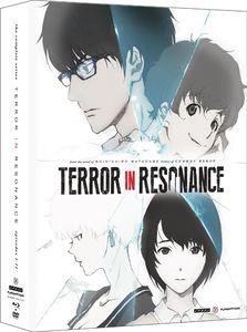 【送料無料】TERROR IN RESONANCE: COMPLETE SERIES (4枚組) (W/DVD)(アニメ輸入盤ブルーレイ) (残響のテロル)