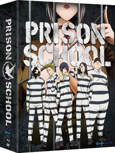【送料無料】PRISON SCHOOL: COMPLETE SERIES (4PC) (W/DVD) (アニメ輸入盤ブルーレイ)【B2016/11/22発売】