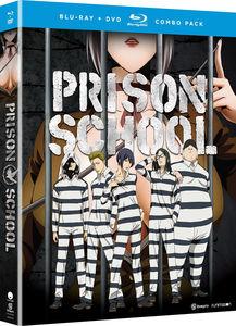 【送料無料】PRISON SCHOOL: THE COMPLETE SERIES (4PC) (W/DVD) (アニメ輸入盤ブルーレイ)【B2016/11/22発売】