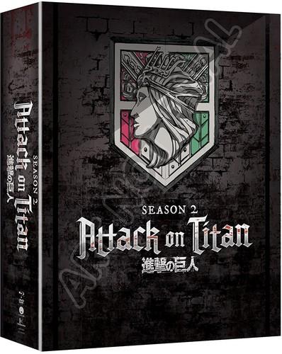 【送料無料】ATTACK ON TITAN: SEASON TWO (4PC) (W/DVD) (LIMITED EDITION)【B2018/2/27発売】 (アニメ輸入盤ブルーレイ)