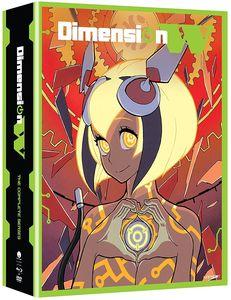 【送料無料】DIMENSION W: SEASON ONE (4PC) (W/DVD) (Limited Edition) (アニメ輸入盤ブルーレイ)【B2017/5/23発売】