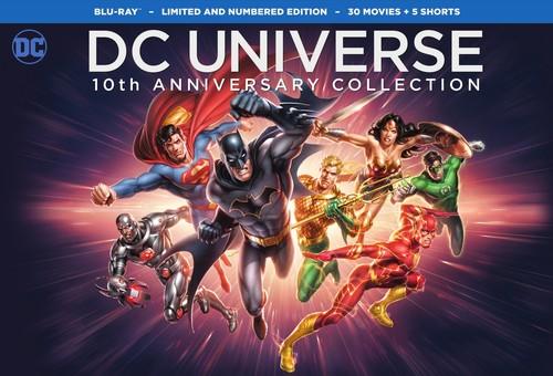 【輸入盤ブルーレイ】【送料無料】DC UNIVERSE 10TH ANNIVERSARY COLLECTION (31PC) (アニメ)【B2017/11/7発売】