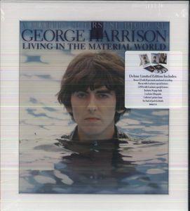 【送料無料】GEORGE HARRISON / LIVING IN THE MATERIAL WORLD (W / BLU-RAY + CD) (輸入盤DVD) (ジョージ・ハリスン)
