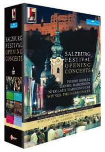 【送料無料】【1】BARTOK/BOULEZ/WIENER PHILHARMONIKER / SALZBURG FESTIVAL: OPENING CONCERTS (4PC) (輸入盤DVD)