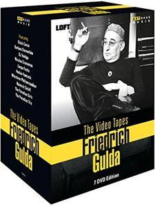 【送料無料】【0】GULDA/COREA/PARADISE TRIO/DJ VERTIGO / VIDEO TAPES - FRIEDRICH GULDA (7PC) (輸入盤DVD)