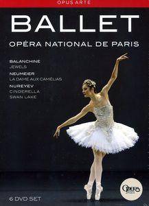 【送料無料】【0】BALANCHINE/DUPONT/GILLOT/LETESTU/OSTA / PARIS OPERA BALLET BOX SET (6PC) (輸入盤DVD)
