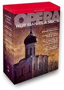 【送料無料】BORIS GODUNOV/MICHAEL BODER/MARC ALBRECHT / RUSSIAN OPERA CLASSICS (8PC) (輸入盤DVD)