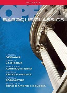 【送料無料】G.F.HANDEL/SALLY MATTHEWS/WILLIAM CHRISTIE / BAROQUE OPERA CLASSICS (9PC) (輸入盤DVD)