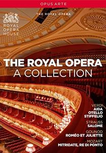 【送料無料】G. VERDI/ROYAL OPERA CHORUS/EDWARD DOWNES / ROYAL OPERA - A COLLECTION (6PC) (輸入盤DVD)(2016/5/27)
