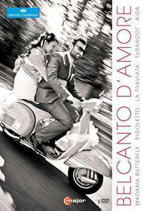【送料無料】VERDI/PUCCINI / BELCANTO AMORE ITALIAN OPERAS (5PC) (輸入盤DVD)