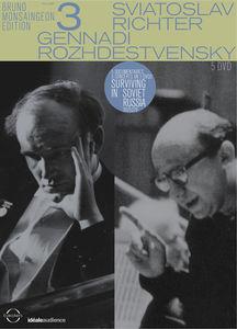 【送料無料】BRUNO MONSAINGEON/S. RICHTER/G. ROZHDESTVENSKY / BRUNO MONSAINGEON EDITION VOL 3 (5PC) (輸入盤DVD)